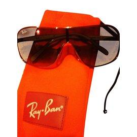 Ray-Ban-Brillen-Grau