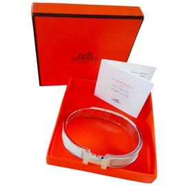 Hermès-clic H Hermès-Beige