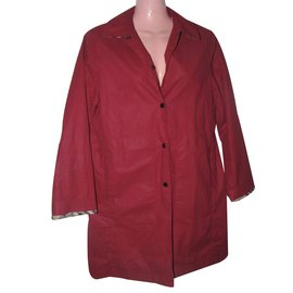 Burberry-Trench coats-Red