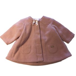 Baby Dior-Coats outerwear-Pink