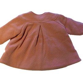 Baby Dior-Manteau filles-Rose