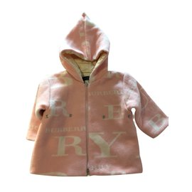 Burberry-Coats outerwear-Pink