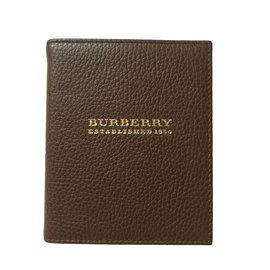 Burberry-Purses, wallets, cases-Brown
