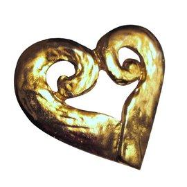 Yves Saint Laurent-Pins & brooches-Golden