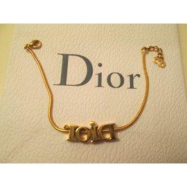 Dior-Bracelets-Golden