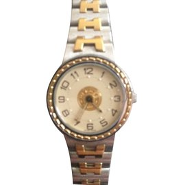 Hermès-Fine watches-Silvery
