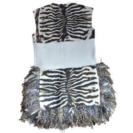 Moncler-Dresses-Zebra print