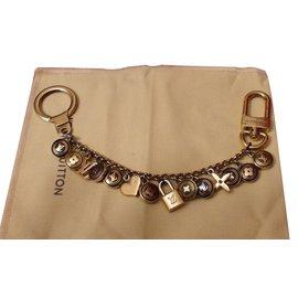Louis Vuitton-Bag charms-Golden