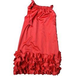 Monnalisa-Dresses-Red