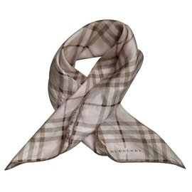 Burberry-Silk scarves-Pink