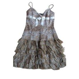 Monnalisa-Dresses-Leopard print