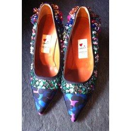 Lanvin-Escarpins-Multicolore