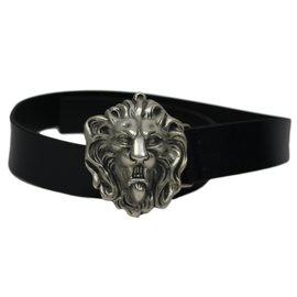 Autre Marque-Ceinture tête de lion - Lotusse-Noir ... 8b3db7dac69