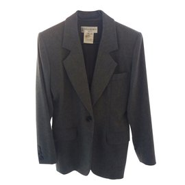 Yves Saint Laurent-Blazer-Gris