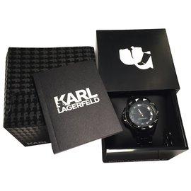 Karl Lagerfeld-Fine watches-Black