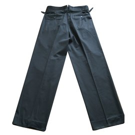 Gucci-Pantalon large-Noir