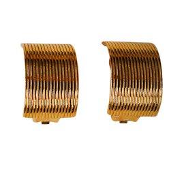 Christian Dior-Earrings-Golden