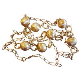 Christian Dior-Long necklaces-Golden