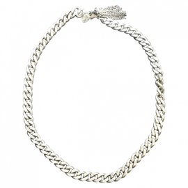 Sandro-Necklaces-Silvery