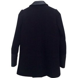 Maje-Coats, Outerwear-Black