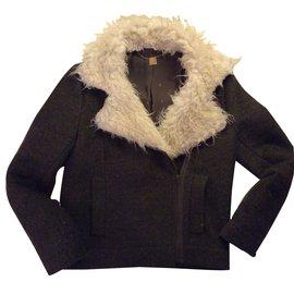 Ikks-Coats, Outerwear-Khaki