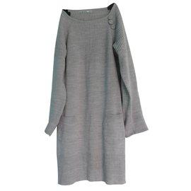 Autre Marque-Robe No the Town-Gris