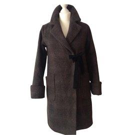 Comptoir Des Cotonniers-Coats, Outerwear-Grey