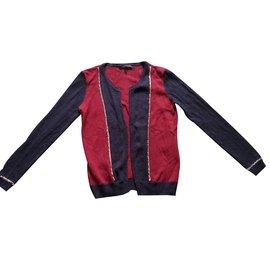 Maje-Knitwear-Dark red
