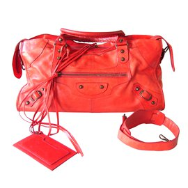 Balenciaga-Handbags-Red