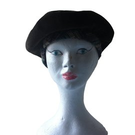 Chanel-Hats-Khaki
