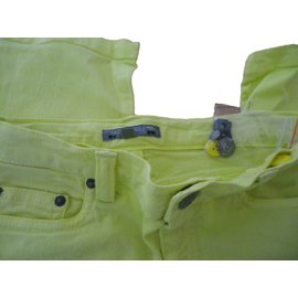 Bonpoint-Pants-Yellow