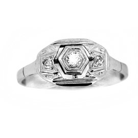 Autre Marque-Rings-Silvery