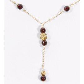 Autre Marque-Necklaces-Dark red