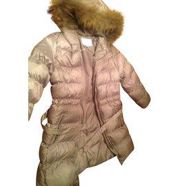 Jacadi-Blousons, manteaux filles-Beige