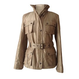 Burberry-Jackets-Beige