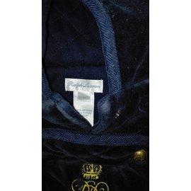 Ralph Lauren-Manteau-Bleu