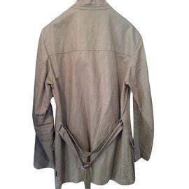 Moncler-Jackets-Khaki