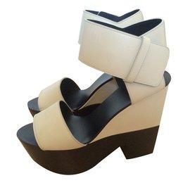 Céline-Sandals-Eggshell