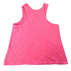 Autre Marque-Tops Tees-Pink
