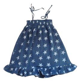 Zef-Robes fille-Bleu