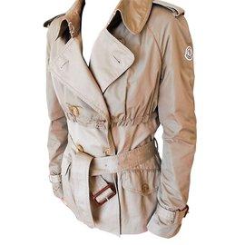 Moncler-Jackets-Beige
