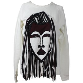 Lanvin-Sweat shirt-Blanc