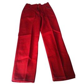 Hermès-Jeans-Red