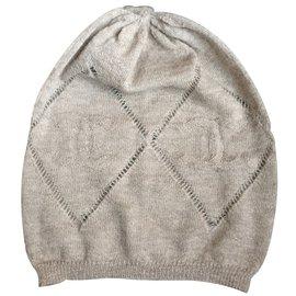 Chanel-Hats-Beige