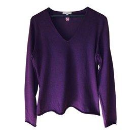Burberry-Knitwear-Purple