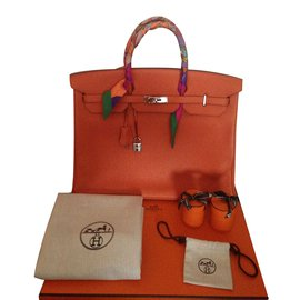Hermès-Birkin 40-Orange