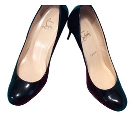 Christian Louboutin-Simple pump 70 mm-Noir