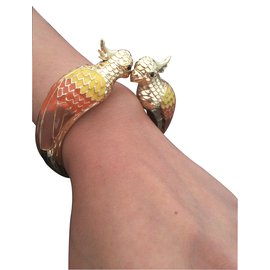 No Collection-Gold plated bangle-Doré