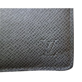 Louis Vuitton-Wallets Small accessories-Grey