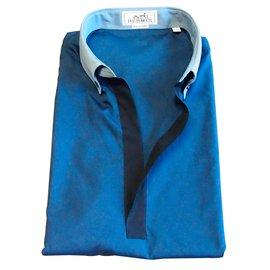 Hermès-Shirts-Blue